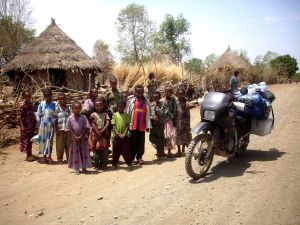 Motorcycling around the world - 50.000km across Africa