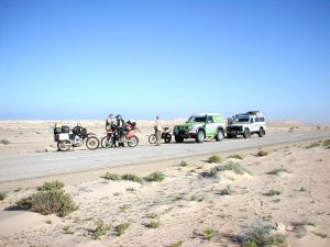 Transafrika - motorcycle expedition from South Africa to England along the west coast