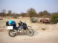 Lone way up - Riding up west through Africa